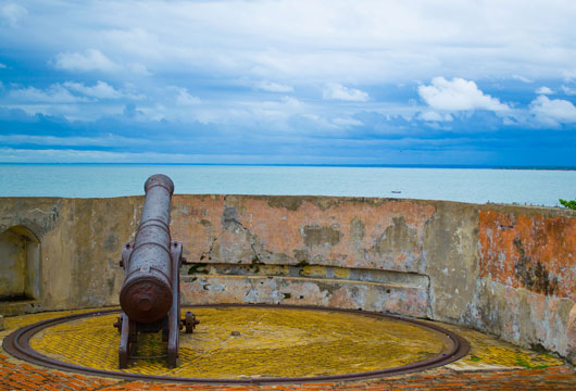 Cannon at Fort Marlborough